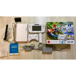 ウィーユー(Wii U)のWii U 32GB shiro マリオカート8セット(家庭用ゲーム本体)