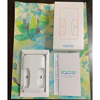 アイコス(IQOS)のiQOS/iqos  2.4plus ダブルチャージングドック、充電器(タバコグッズ)