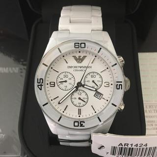 エンポリオアルマーニ(Emporio Armani)の新品未使用 エンポリオアルマーニ AR1424セラミカ腕時計(腕時計(アナログ))