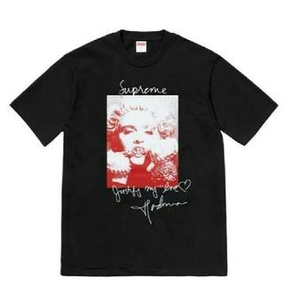 Supreme - 黒S Supreme Madonna Tee シュプリーム マドンナ
