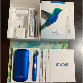アイコス(IQOS)のiQOS/iqos  2.4plus  国内正規品 空港限定 スーパーマンブルー(タバコグッズ)