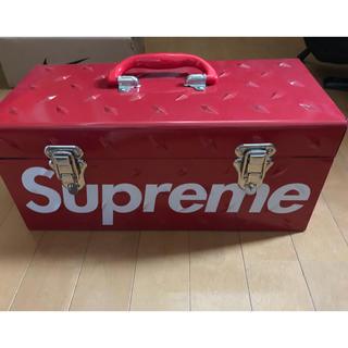 シュプリーム(Supreme)の supreme メタルツールボックス 新品未使用(ケース/ボックス)