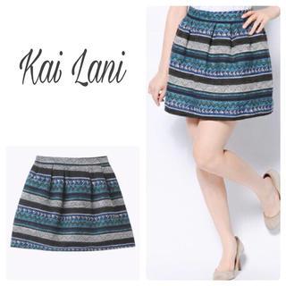 カイラニ(Kai Lani)のKai Lani USA ジャガードスカート(ミニワンピース)