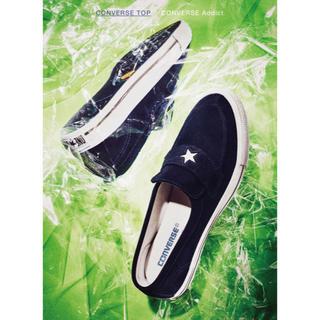 コンバース(CONVERSE)のconverse addict ONE STAR LOAFER 26cm 新品(スニーカー)