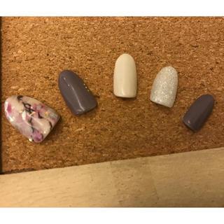 ネイルチップ 天然石ネイル(つけ爪/ネイルチップ)