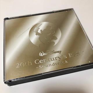 ディズニー(Disney)のディズニー20th センチュリーズ・ベスト~サウンドトラックCD(映画音楽)