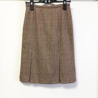 ヌール(noue-rue)の《noue-rue》ツイードスカート(ひざ丈スカート)