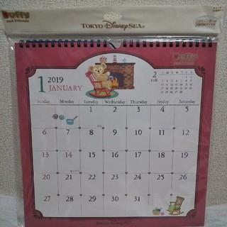 ディズニー(Disney)のダッフィー 壁掛けカレンダー2019(カレンダー/スケジュール)