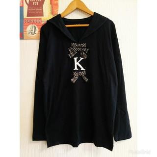ケティ(ketty)のKETTY ケティ 昭和レトロ個性派古着vintage長袖Tシャツ カットソー(カットソー(長袖/七分))