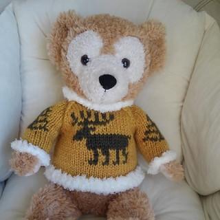 Sサイズダッフィー トナカイのセーター(ぬいぐるみ)