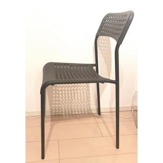 イケア(IKEA)のIKEA 椅子 ADDE 2脚セット(ダイニングチェア)