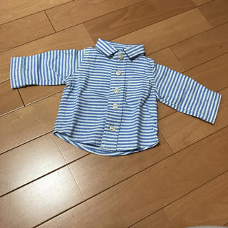 新生児 ストラップシャツ(シャツ/カットソー)