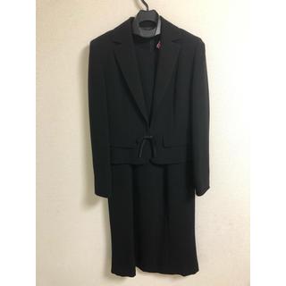 PRIMERO 礼服 ブラックフォーマル 7号 五分袖ワンピース 長袖ジャケット(礼服/喪服)