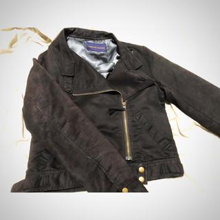 ナチュラルクチュール(natural couture)のnatural couture ライダースジャケット(ライダースジャケット)
