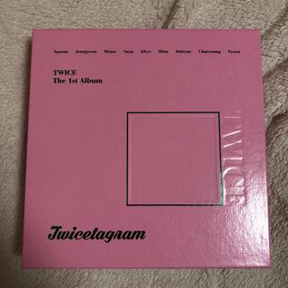 ウェストトゥワイス(Waste(twice))のTWICE♡The 1st Album 「Twicetagram」(K-POP/アジア)
