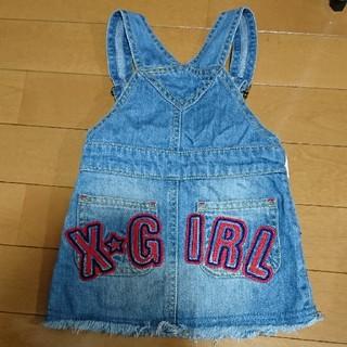 エックスガール(X-girl)のXgirl ジャンパースカート(スカート)