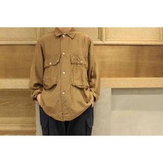 コモリ(COMOLI)の最終価格【COMOLI】17ss silk utility jacket(シャツ)