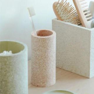 ソイル(SOIL)のsoilソイル 珪藻土トゥースブラッシュ歯ブラシスタンド(日用品/生活雑貨)