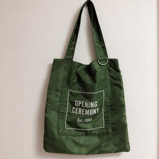 opening ceremony トートバッグ