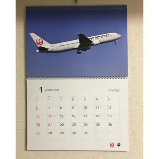 ジャル(ニホンコウクウ)(JAL(日本航空))のJAL 日本航空 カレンダー 2019 非売品(カレンダー/スケジュール)