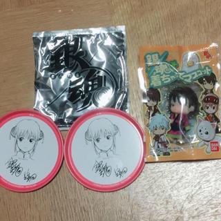 新品♡銀魂 缶バッチ キャラクターグッズ(バッジ/ピンバッジ)