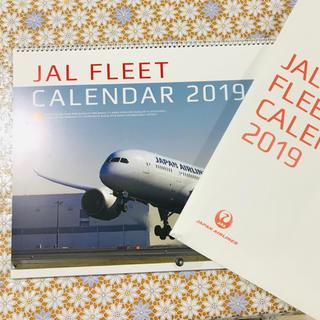 ジャル(ニホンコウクウ)(JAL(日本航空))のJAL カレンダー 2019(カレンダー/スケジュール)