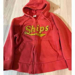 シップスキッズ(SHIPS KIDS)の難あり  shipsシップスパーカー110(ジャケット/上着)