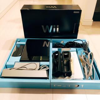 ウィー(Wii)の任天堂Wii 完動品(家庭用ゲーム本体)