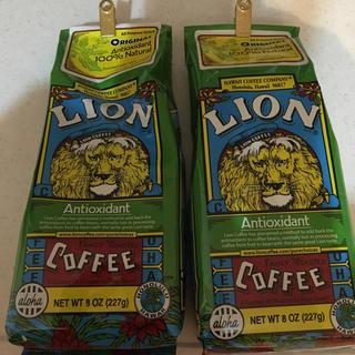 ライオン(LION)のライオンコーヒー2袋セット(コーヒー)