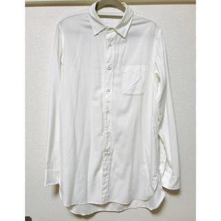 スリック(SLICK)のロングシャツ サテンシャツ 白シャツ SLICK スリック(シャツ)