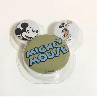 ミッキーマウス 缶バッジセット(バッジ/ピンバッジ)
