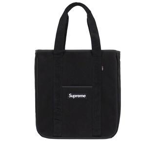 シュプリーム(Supreme)の18aw supreme Polartec tote bagトートバッグ黒新品(トートバッグ)
