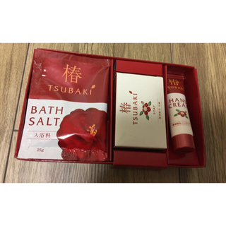 TSUBAKI ハンドクリーム 石鹸 入浴剤 セット(ハンドクリーム)