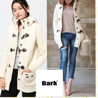 バーク(BARK)の新品 Bark ニットダッフルコート S(ダッフルコート)