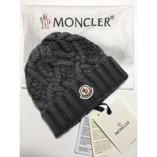 モンクレール(MONCLER)の☆モンクレール☆新品ニットキャップ☆(ニット帽/ビーニー)