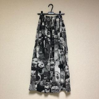 ヴィヴィアンウエストウッド(Vivienne Westwood)のパペット柄 ロングスカート(ロングスカート)