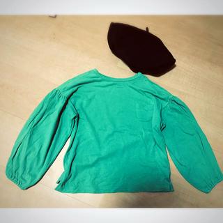 アンバー(Amber)のバルーンスリーブ ロンT 韓国子供服(Tシャツ/カットソー)