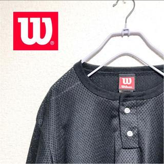 ウィルソン(wilson)のウィルソン メッシュ ゲームシャツ(Tシャツ/カットソー(半袖/袖なし))