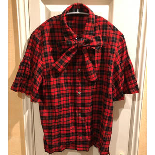 ジーヴィジーヴィ(G.V.G.V.)の【入手困難】GVGV チェックシャツ(シャツ/ブラウス(半袖/袖なし))