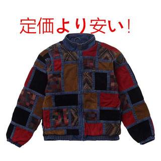 シュプリーム(Supreme)のCorduroy Patchwork Denim Jacket(Gジャン/デニムジャケット)