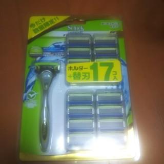 シックハイドロ本体+替刃17枚セット(メンズシェーバー)