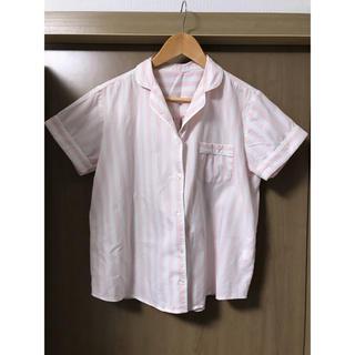ジーユー(GU)のGU 半袖 ストライプパジャマ ルームウェア(パジャマ)