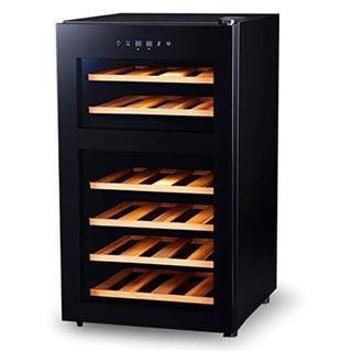 ワインセラー 24本収納モデル  国内メーカーペルチェ採用 ダブルペルチェ方式(ワインセラー)