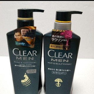 クリア(clear)の新品未開封!CLEAR MEN シャンプー コンディショナーセット(シャンプー)