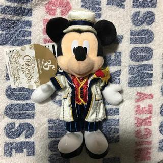 Disney - お顔厳選 ミッキー ぬいぐるみバッジ クリスマス イツクリ シー
