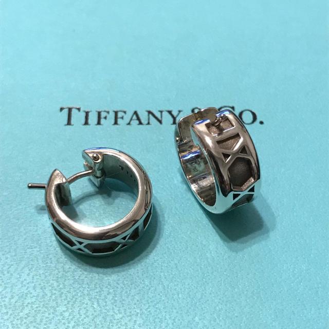 online store d1d57 12887 Tiffany&co. ティファニー アトラス ピアス   フリマアプリ ラクマ