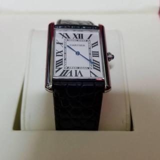 カルティエ(Cartier)のカルティエ タンクソロ LM 美品(腕時計(アナログ))
