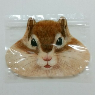 フェリシモ(FELISSIMO)のフェリシモ シマリスのまち付きほおぶくろ袋(収納/キッチン雑貨)