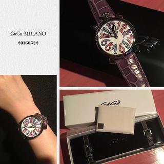 ガガミラノ(GaGa MILANO)のガガミラノ マヌアーレ 40mm(腕時計(アナログ))