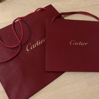 カルティエ(Cartier)のカルティエ 紙袋 大小セット(ショップ袋)